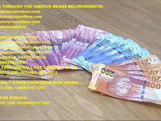 Buy Counterfeit South African Rand